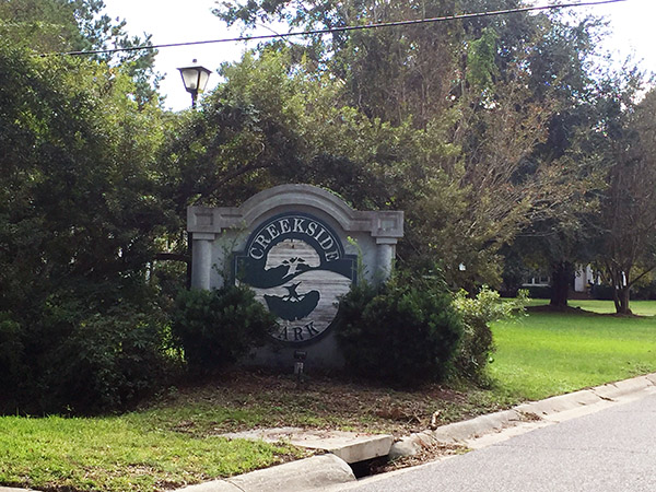 Creekside Neighborhood One Of Mount Pleasants Hidden Treasures Park Offers The Feel Country Club Living In