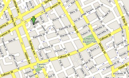 map of downtown charleston sc – bnhspine.com Downtown Charleston Sc Map on