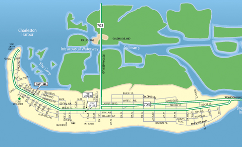 Sullivan S Island Real Estate Map
